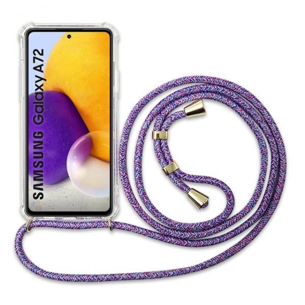 갤럭시 A72 5G LTE 넥클리스 핸드폰 목걸이 케이스 끈 포함