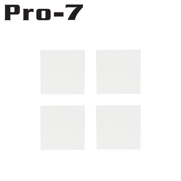 Pro-7 P-BD20CN 지진 대비 DVD/블루레이 전도 방지 내진 매트(20x20x5mm)
