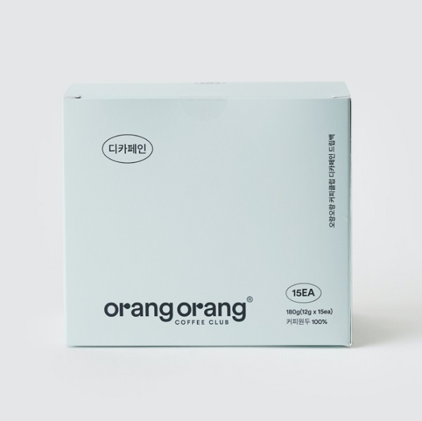 디카페인 커피 드립백 OrangOrang Decaffeinated Coffee  Drip Bag 15개입