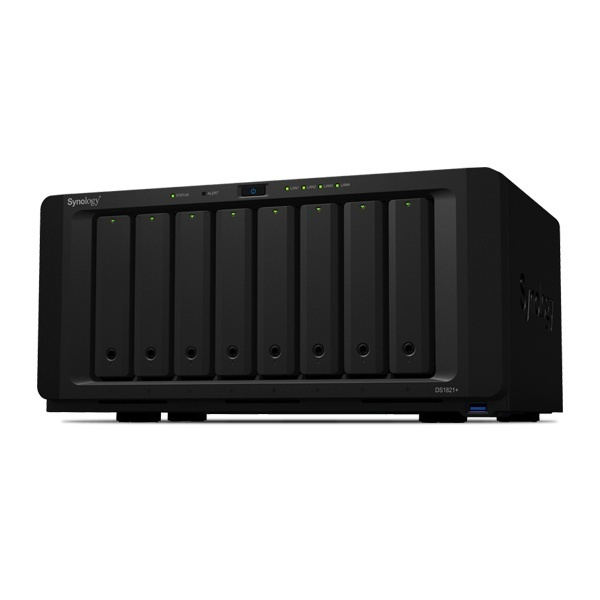 DS1821+ [에이블] WD RED [WD RED HDD 96TB(12TB*8)]