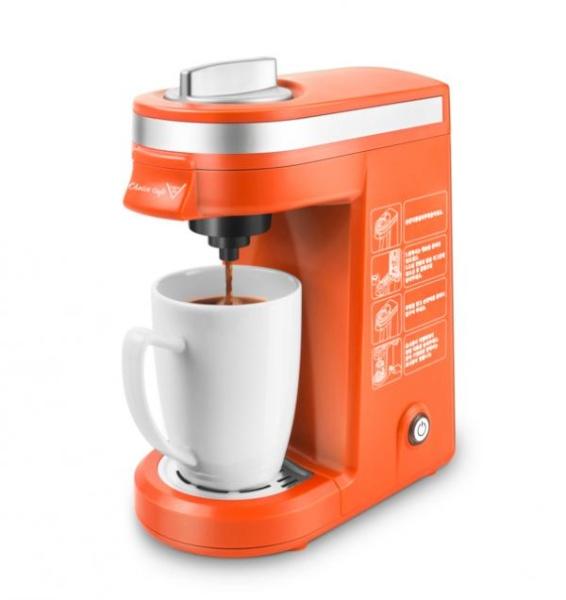 싱글바리스타 캡슐 커피머신 CM801 [ 오렌지 ]