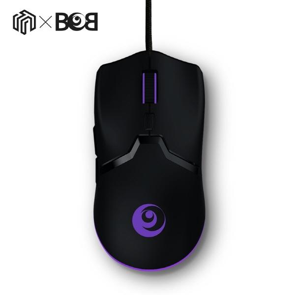 유선 게이밍 광마우스, CROAD x BOB M1 (크로드밥 M1) [블랙/USB]