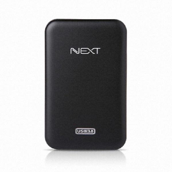 조립 외장HDD, 이지넷 NEXT-412U3 (리퍼하드) [USB3.0] 1TB [리퍼하드 1TB/블랙]