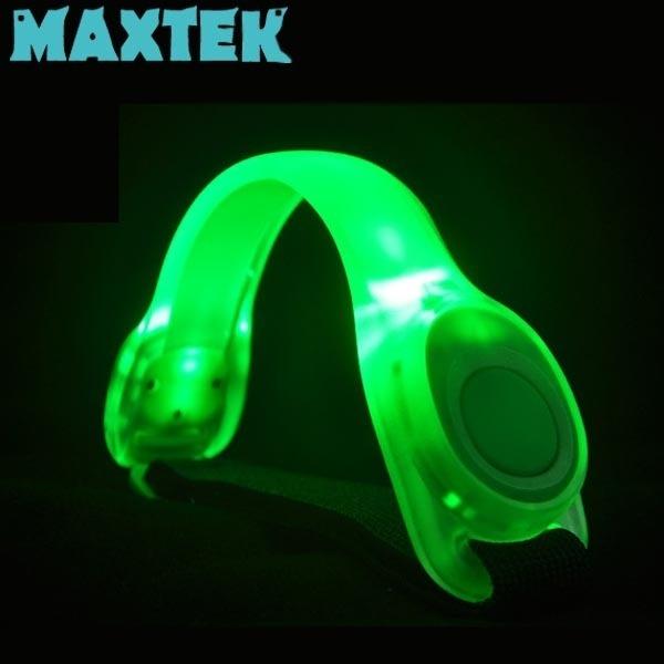 맥스텍 LED 안전밴드 형광 그린라이트 암밴드 [MT178]