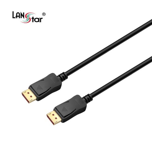 랜스타 DisplayPort 케이블 [Ver1.4] 2M [LS-DP14N-2M]