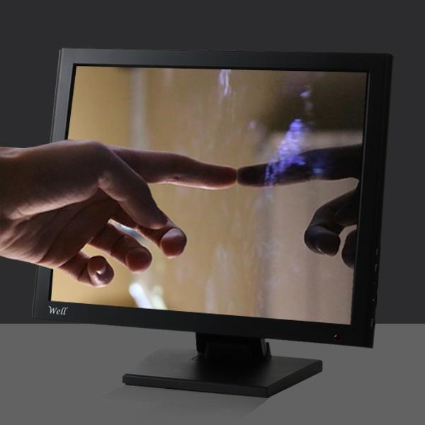 WELL 170B-JQ 17형 올인원 터치 산업용PC [셀러론 J1900]