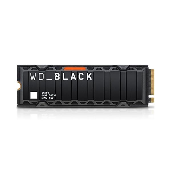 Black NVMe SSD SN850 M.2 2280 500GB TLC Heatsink (방열판)