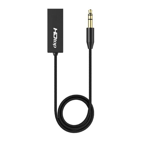 HDTOP USB TO AUX 오디오 전용 무선 블루투스 리시버 HT-A500