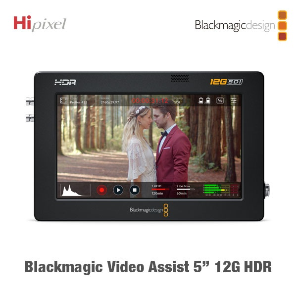 Blackmagic Video Assist 5인치 12G HDR