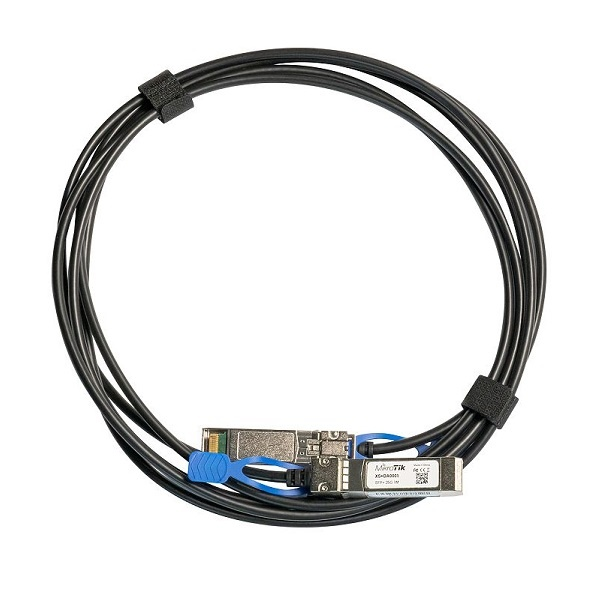 MikroTik Direct Attach 케이블, SFP+ [XS+DA0001] [1M/25G]