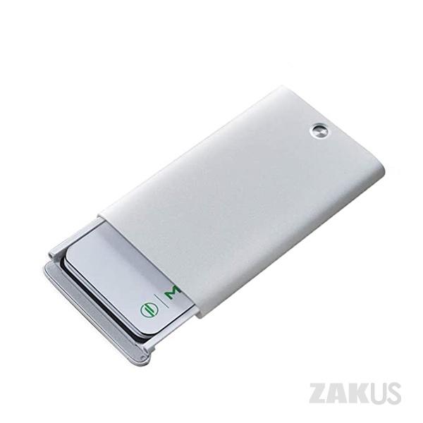 MIIIW 미우 자동 팝업 명함 케이스 비즈니스 카드 케이스 카드 지갑