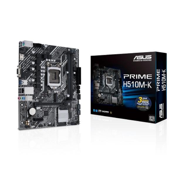 PRIME H510M-K 인텍앤컴퍼니 (인텔H510/M-ATX)