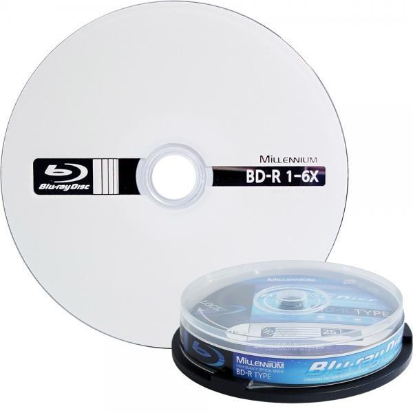 블루레이, BD-R, 6배속, 25GB [케익통/10매]