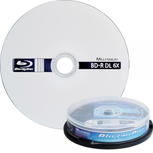 블루레이, BD-R, 6배속, 50GB [케익통/10매]