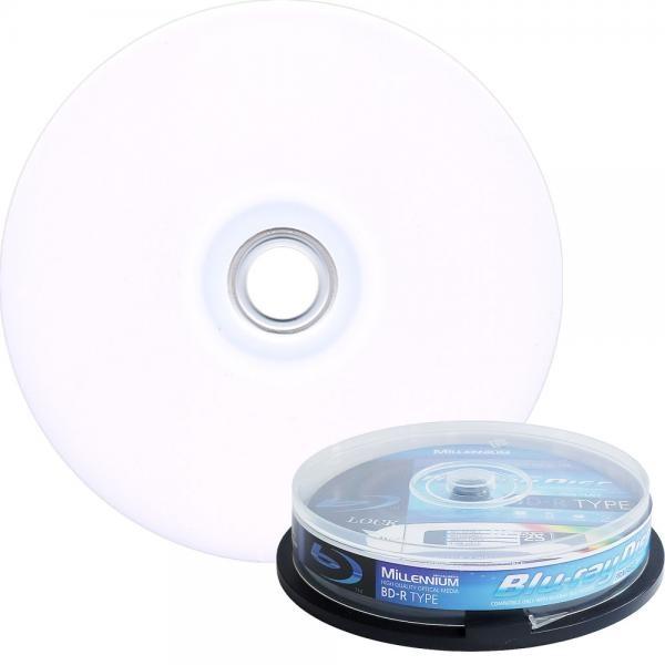 블루레이, BD-R 프린터블, 6배속, 25GB [케익통/10매]