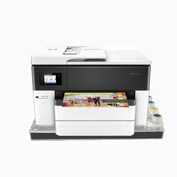 [HP(병행)] HP Officejet Pro 7740 무한잉크 복합기 (병행수입) +  아틀라스 하단대용량 공급기