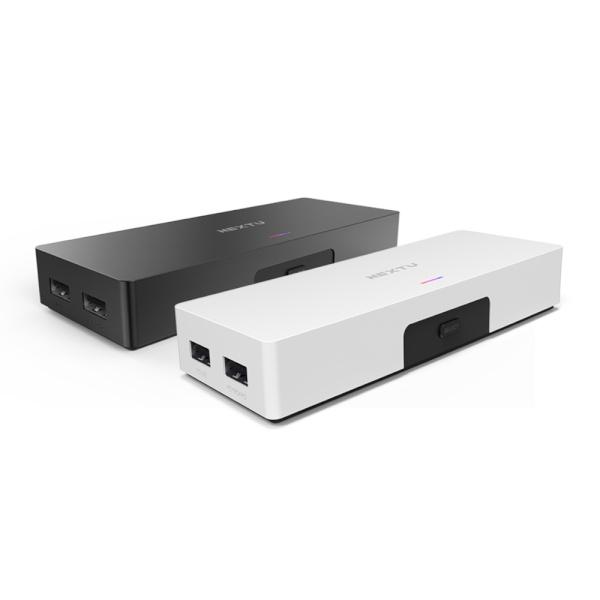 이지넷 NEXT-7602KVM-4K [KVM스위치/2:1/USB/케이블 포함] [블랙]