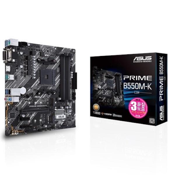 PRIME B550M-K/CSM STCOM (AMD B550/M-ATX)