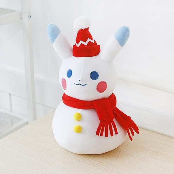포켓몬스터 눈사람 피카츄 인형 30cm