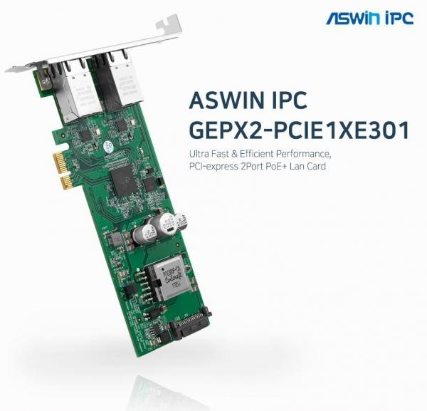 에즈윈아이피씨 GEPX2-PCIE1XE301 [유선랜카드/PCI-e/1000Mbps]