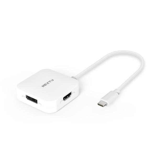 이지넷 이지넷 USB Type-C to HDMI 멀티 컨버터 [화이트] [NEXT-2277TCH-4K]