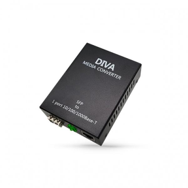 디바네트웍스 DIVA-ME1 광컨버터 [1000Mbps/SFP]
