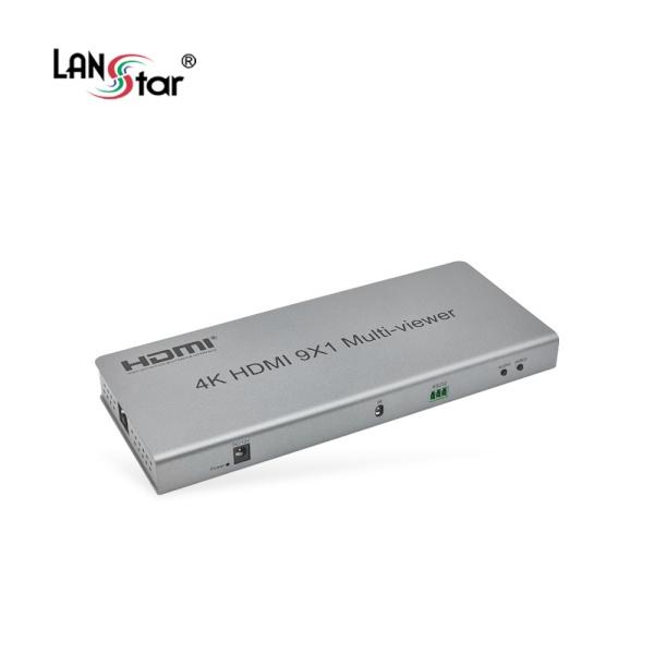 랜스타 LS-HDM902 [모니터분배기/9:1/HDMI]
