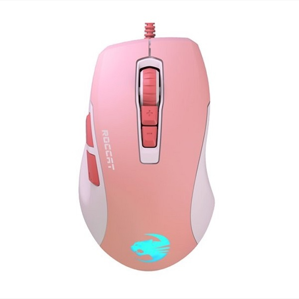 유선 게이밍 광마우스, Kone Pure Ultra Coral (콘 퓨어 울트라 코랄) [민트탭스정품] [핑크/USB]
