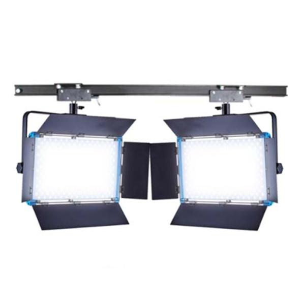 스튜디오 천장 조명 레일+2500Ⅱ 2구 세트