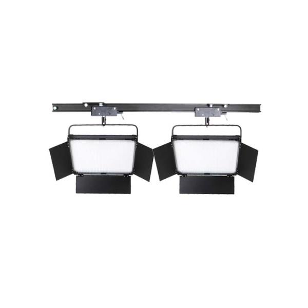 스튜디오 천장 조명 레일+2080Ⅱ 2구 세트