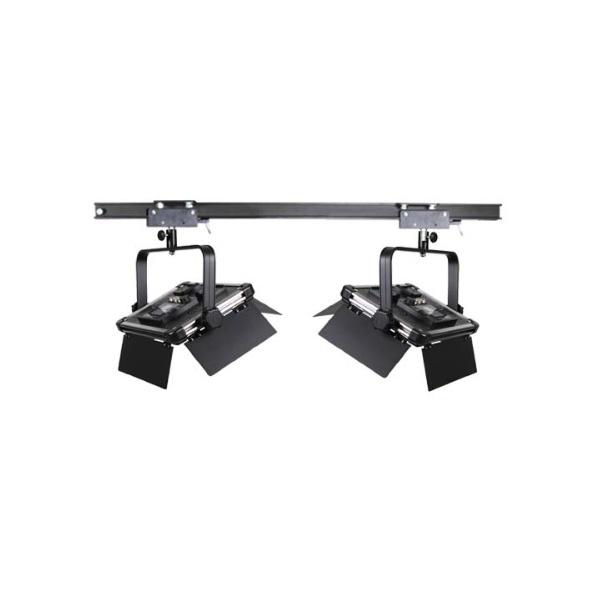 스튜디오 천장 조명 레일+1600Ⅱ 2구 세트