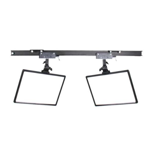 스튜디오 천장 조명 레일+HV-288A 2구 세트