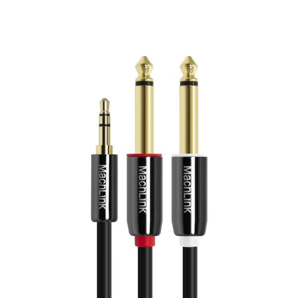 마하링크 3극 스테레오 TO 5.5(6.3)모노 Y 오디오 케이블 15M [ML-SY6150]