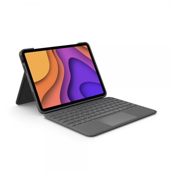 로지텍코리아 정품 Folio Touch (폴리오 터치) iPad Air 4세대 전용 키보드케이스
