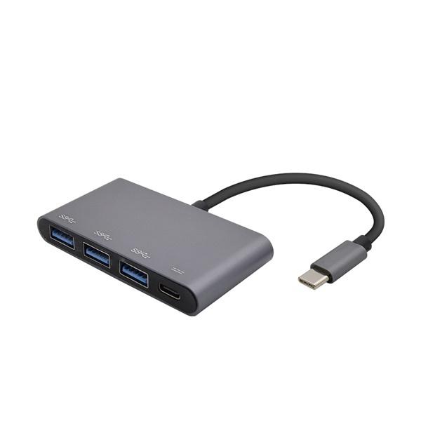 Coms FW419(USB C타입허브/4포트/무전원)