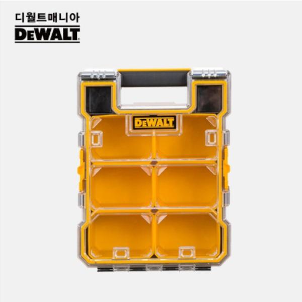 스탠리 디월트 사타 루피지 공구함 모음 [제품선택] 디월트 전문가용 소형 부품함 DWST14735