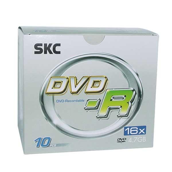 DVD-R, 16배속, 4.7GB [쥬얼/1P-10매]