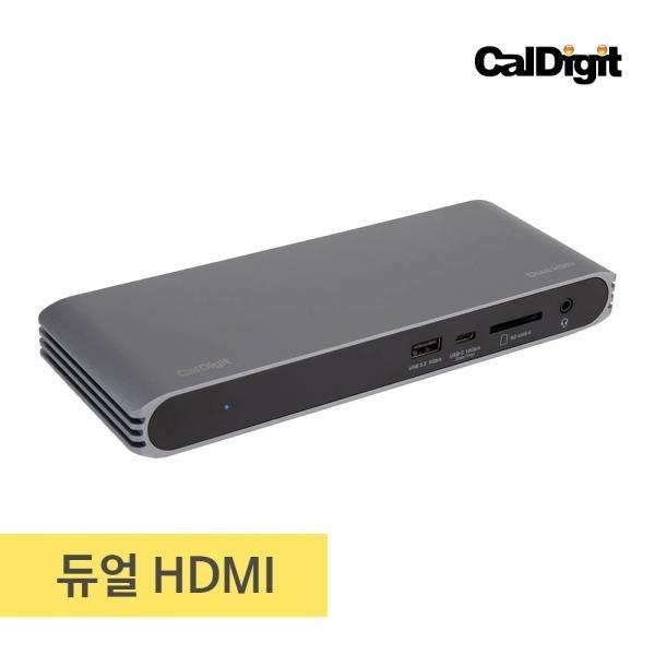 칼디짓 CalDigit HDMI Dock (USB허브/도킹/10포트/멀티포트/무전원)