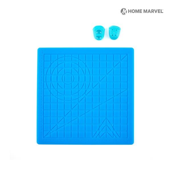 홈마블 3D펜 실리콘 도안패드(S) + 보호캡 세트