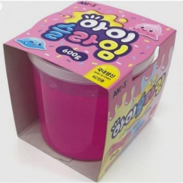 아이슬라임 (600g) [제품선택] 분홍