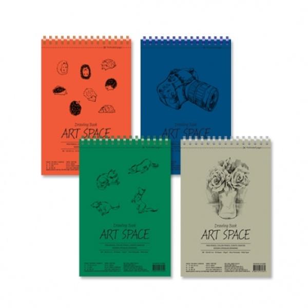 아트스페이스 드로잉북 [제품선택] 그린(B5,182*271mm)