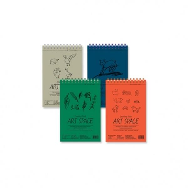 아트스페이스 드로잉북 (A5,148*224mm) [제품선택] 그린