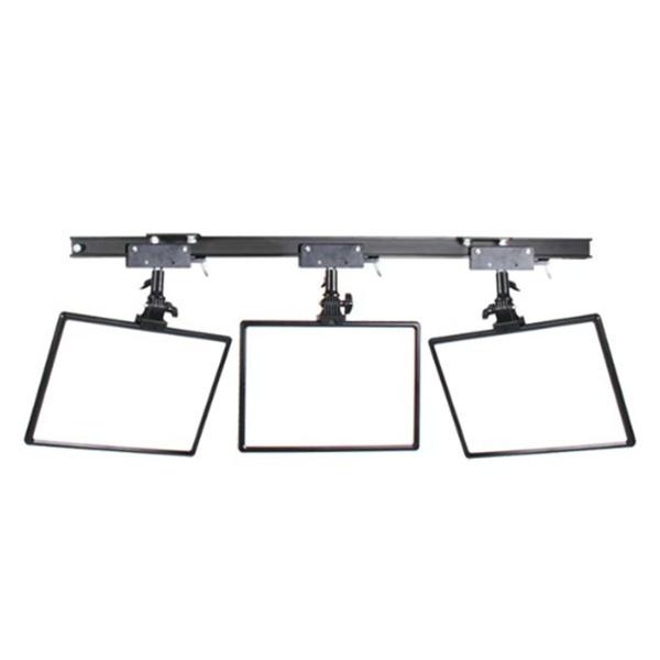 스튜디오 천장 조명 레일+HV-288A 3구 세트