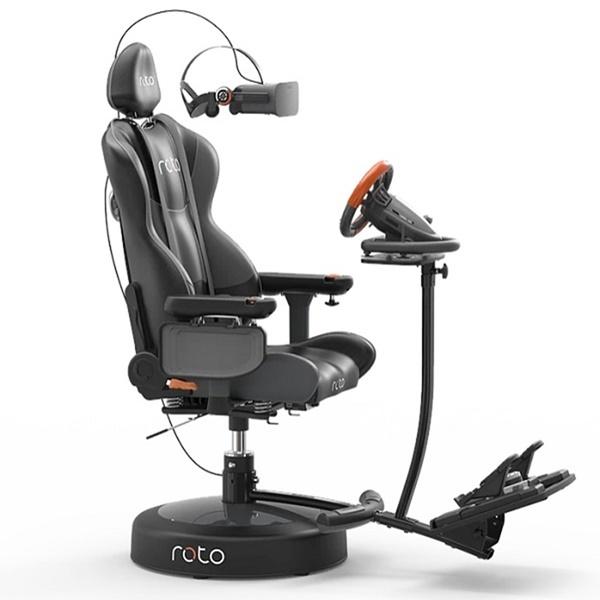 Roto VR Chair 로토 VR 의자 인터랙티브 레이싱 시뮬레이터 체어 체험 기기