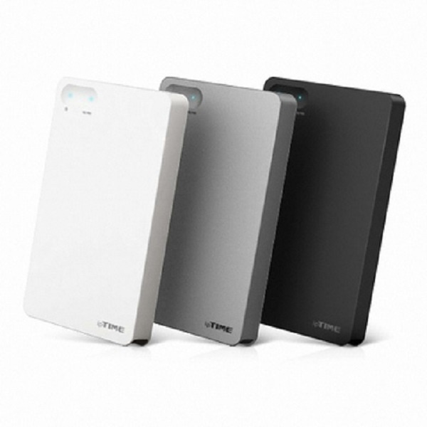 조립 외장HDD, ipTIME HDD3125 PLUS [USB3.0/파우치포함] 500GB [리퍼하드 500GB/실버]