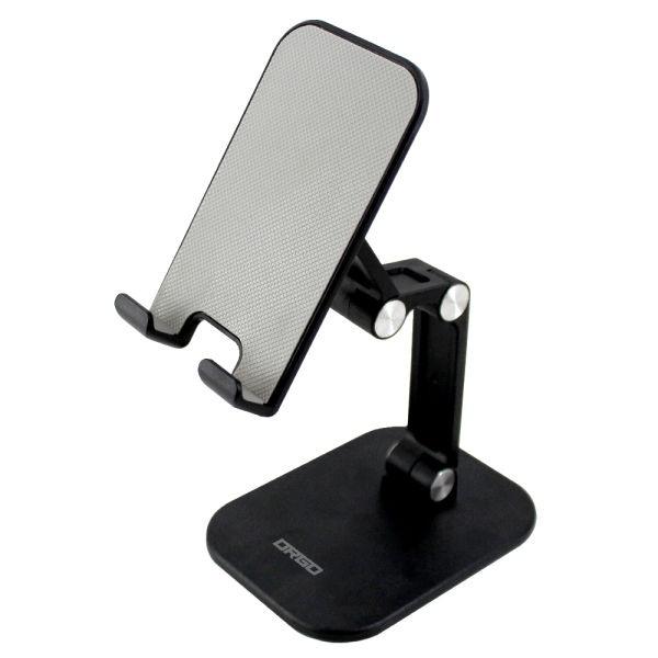 MTS01 스마트폰 태블릿 4단 접이식 거치대 블랙