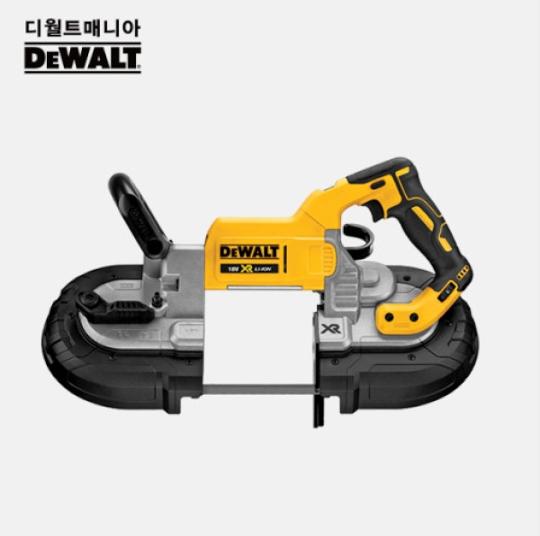 디월트 20V MAX 충전 밴드쏘 밴드톱 베어툴 DCS374N 본체단품
