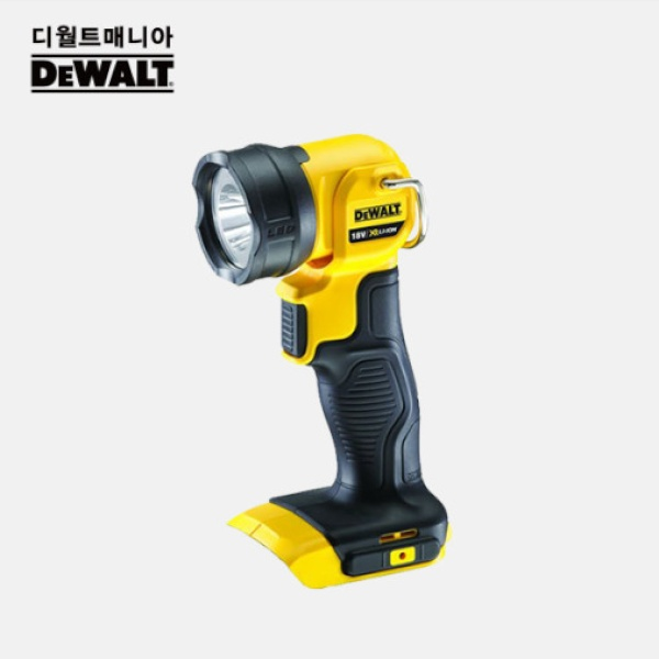 디월트 20V MAX LED 충전작업등 후레쉬 베어툴 DCL040N
