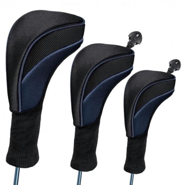 [GTS78593] 넘버링 골프클럽 헤드커버 3종세트(블루)