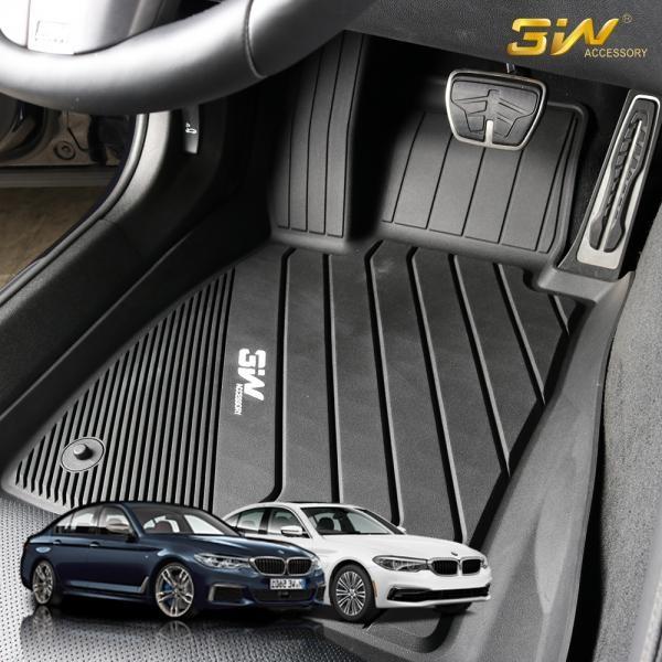 BMW 5시리즈 G30 3W 에코라이너 3D TPE 카매트 카 차 발 매트 바닥 발판 깔판